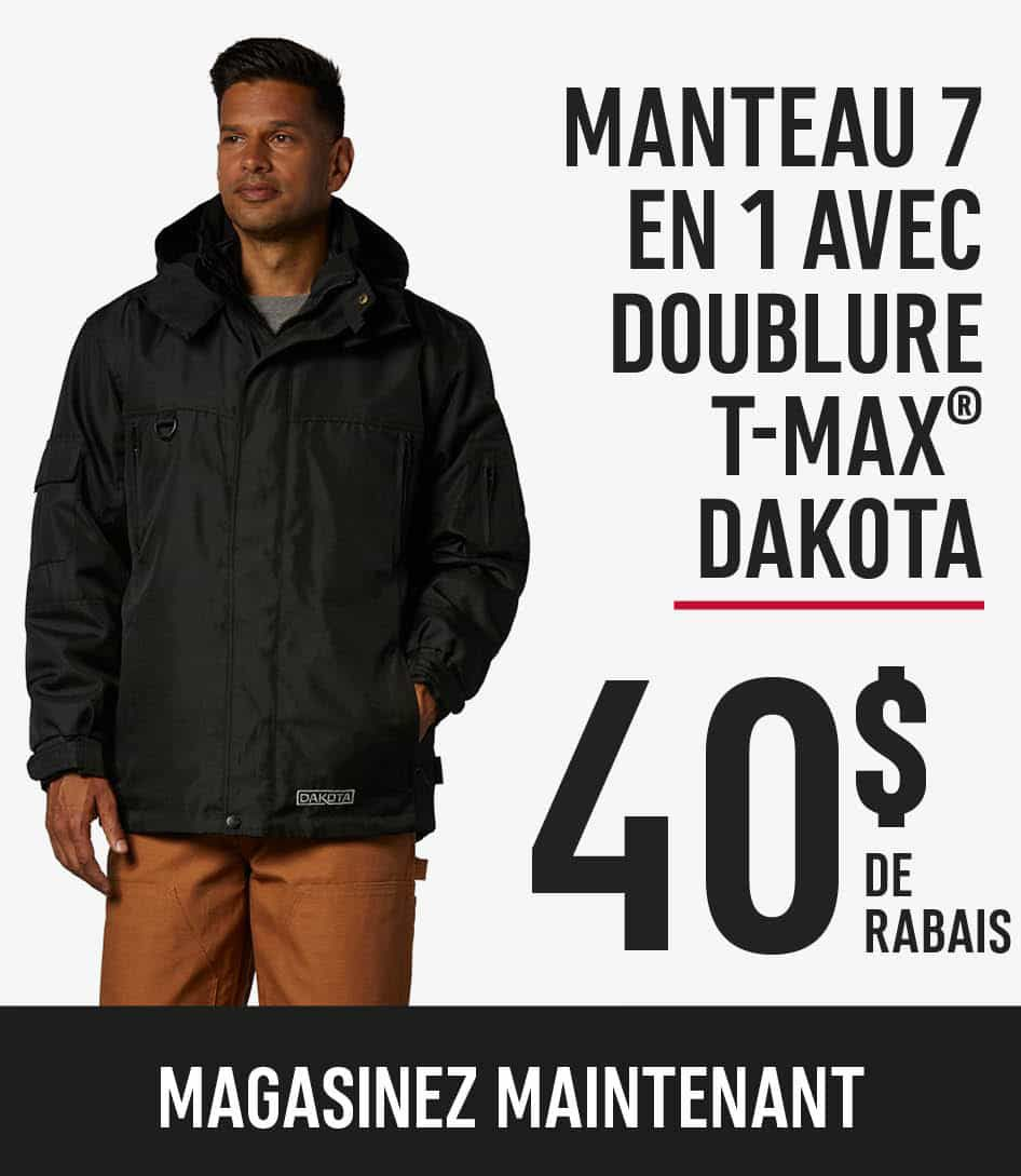 dakota 7 in 1 jacket with tmax liner