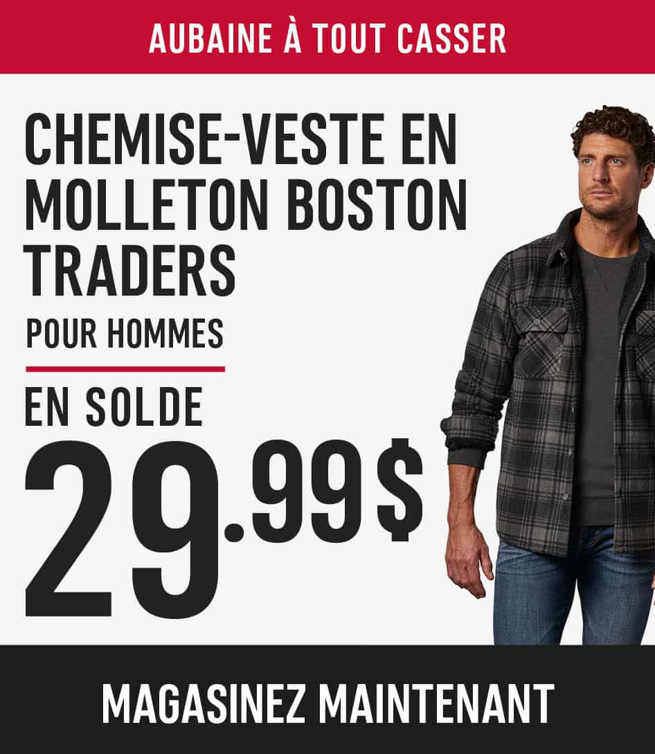 men's boston trader fleece