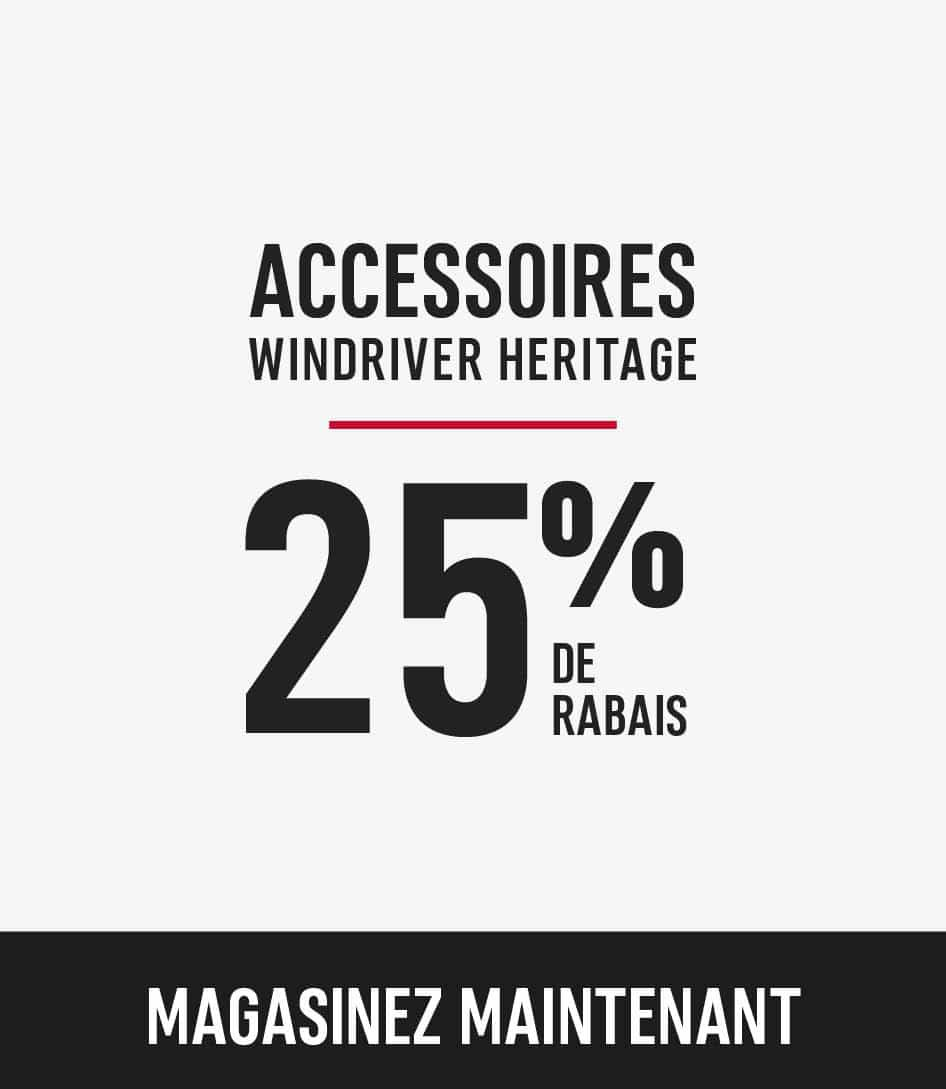 windriver heritage accessories
