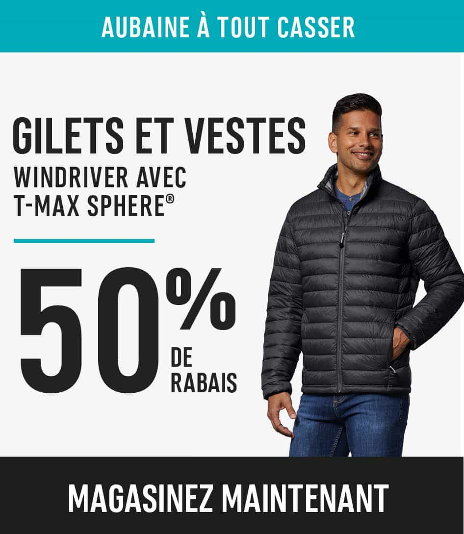 Windriver tmax sphere jackets and vest save 50%