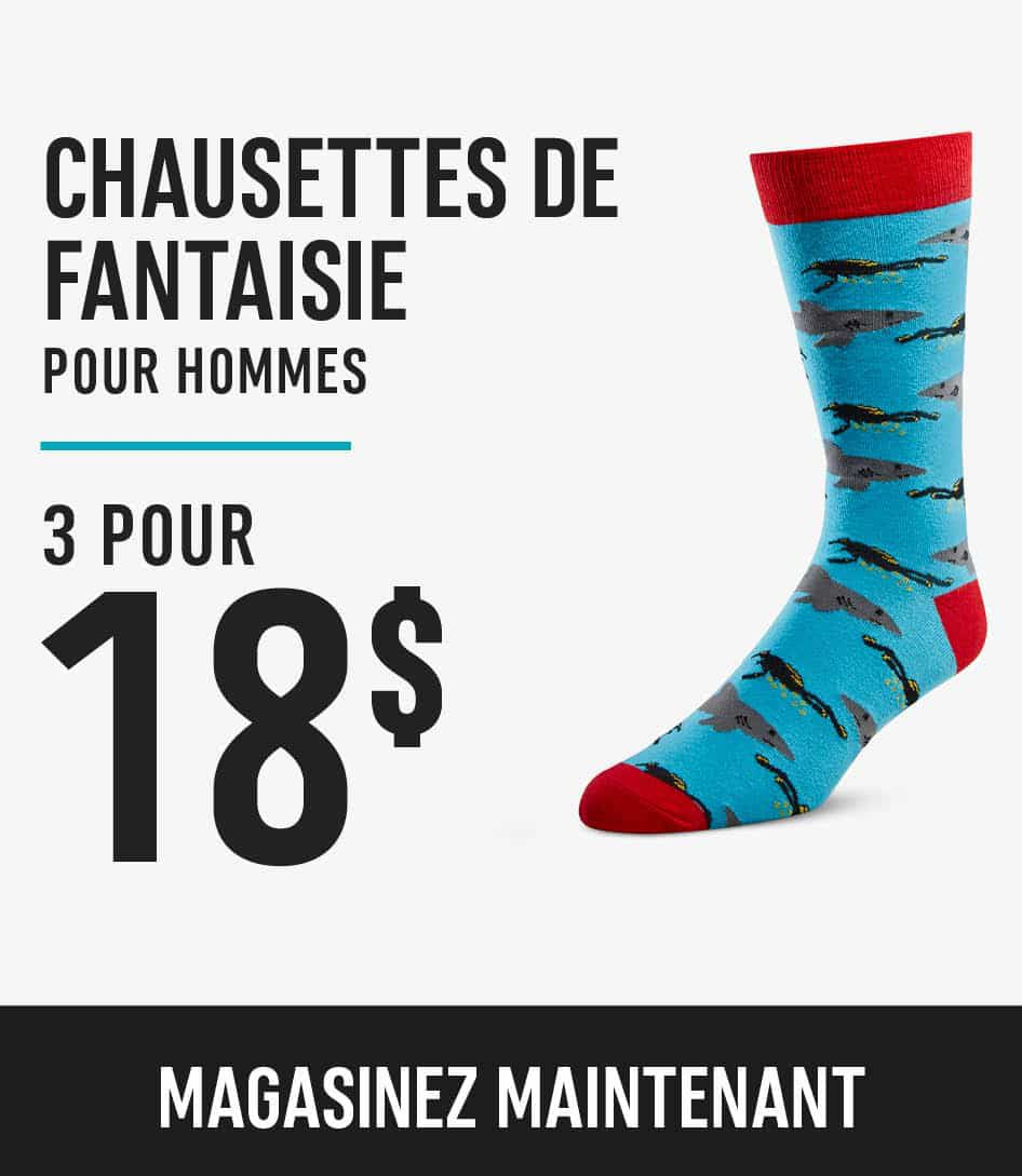 Men's Novelty Socks 3 for $18