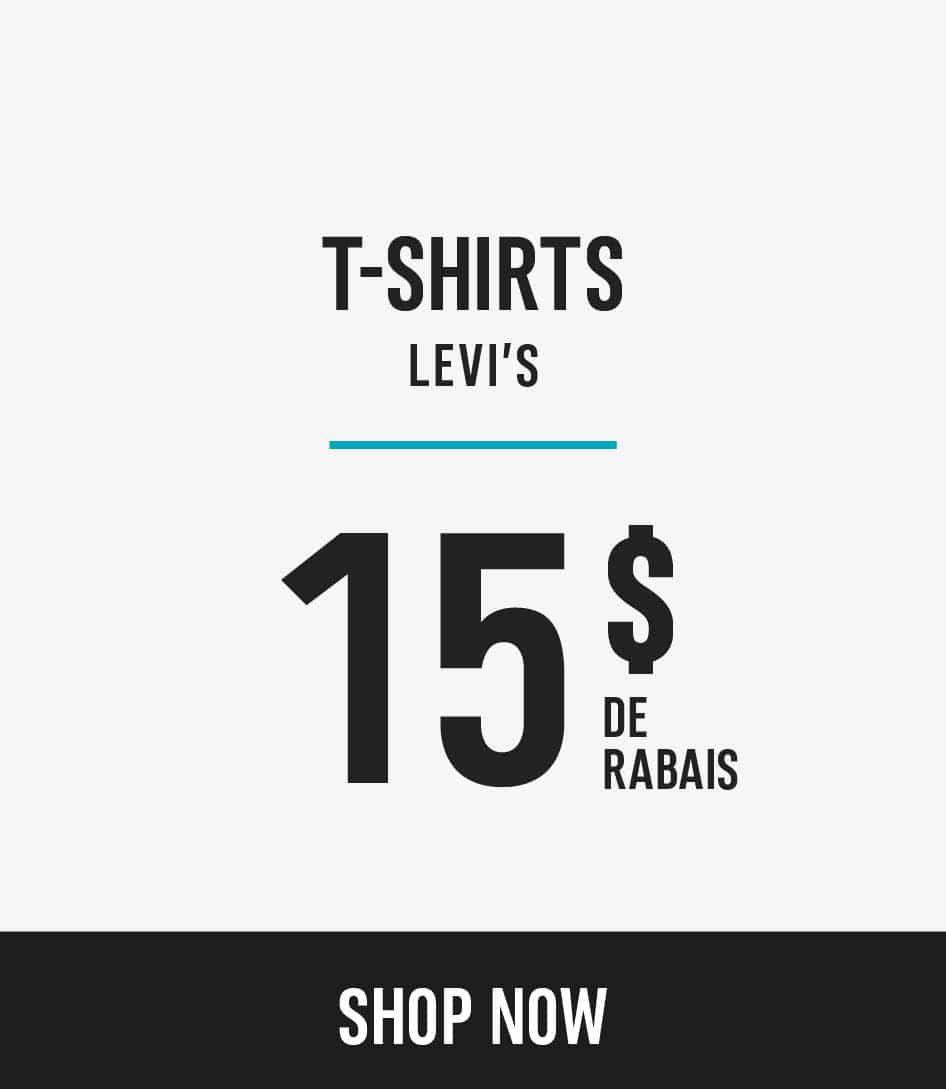 Levi's t-shirts sale $15