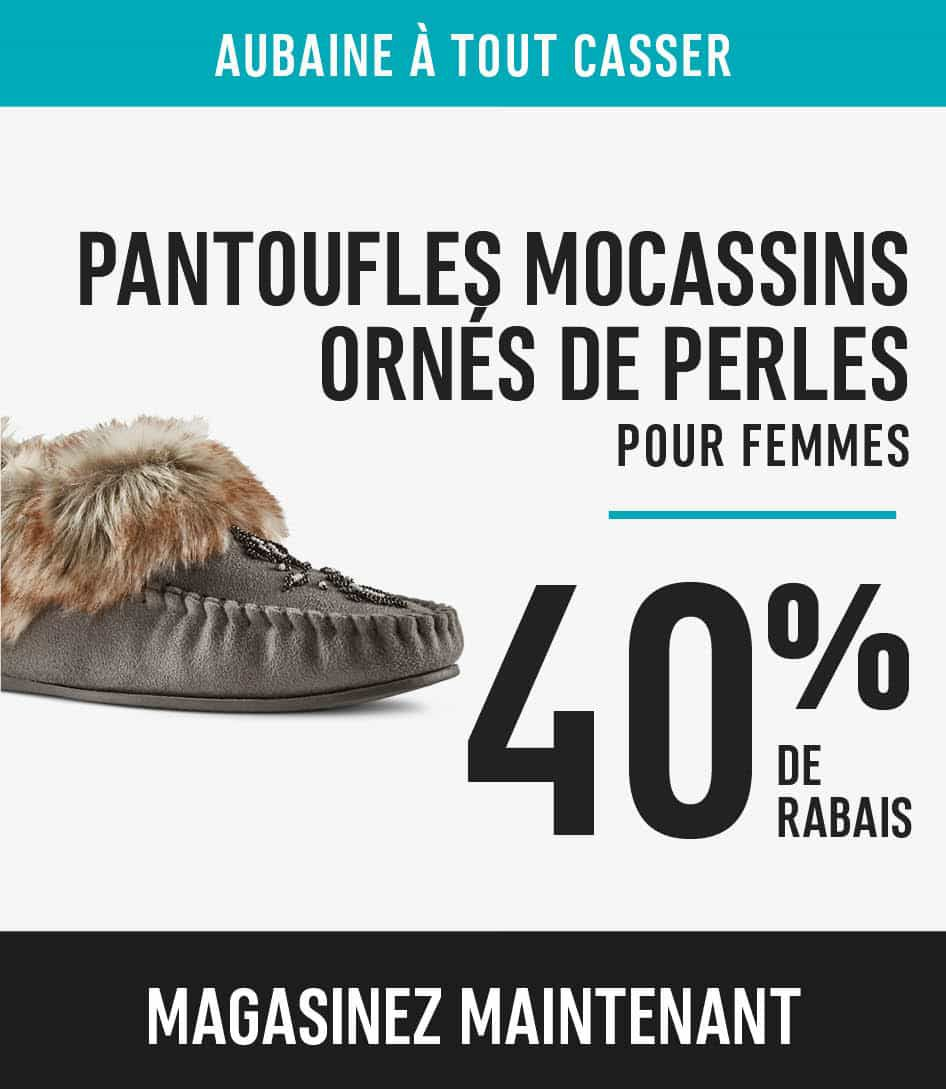 Women's Moccasin Slippers save 40%
