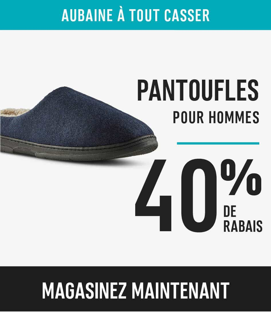 Men's Slippers Save 40%