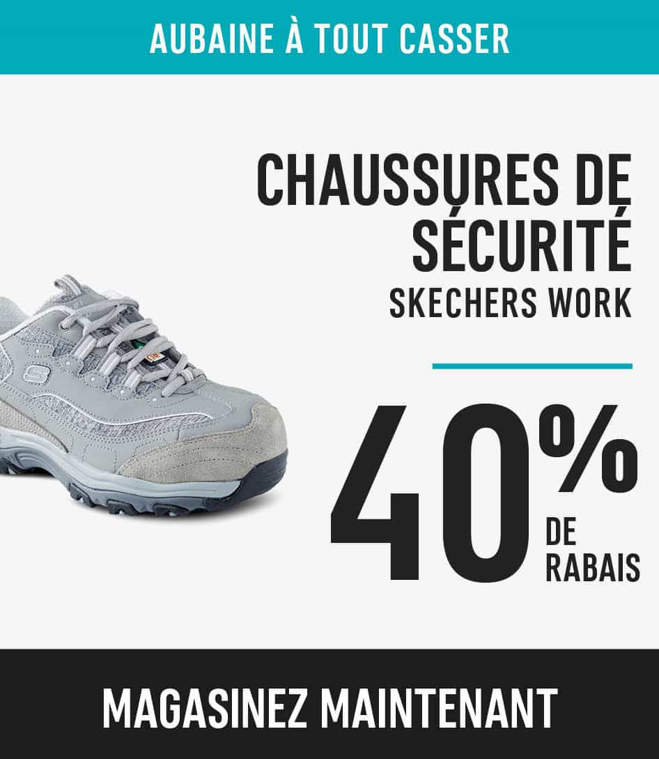 Skechers work safety shoes save 40%