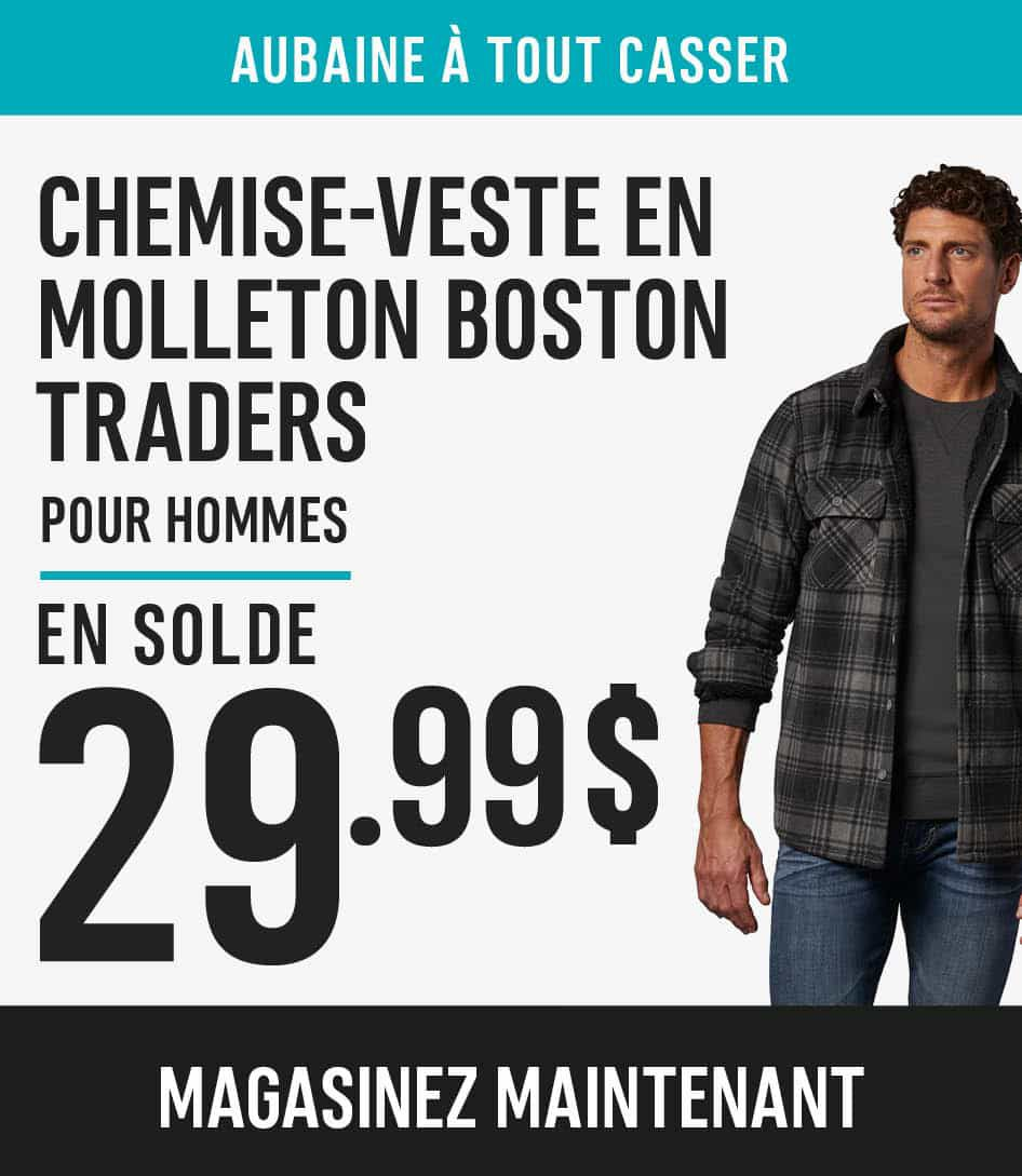 Men's Boston Traders Fleece