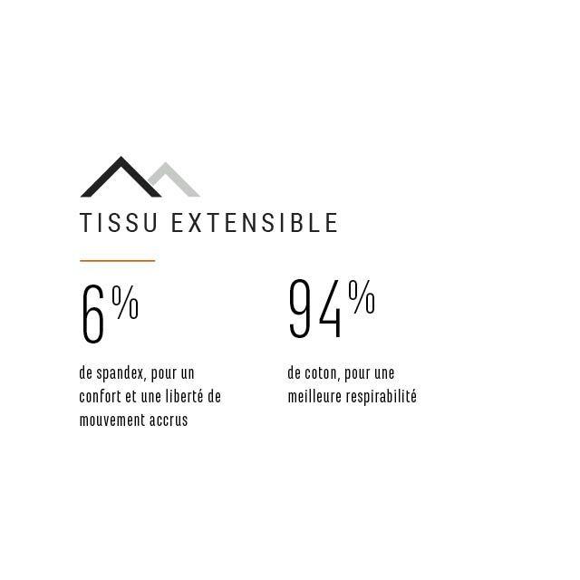Tissu extnsible