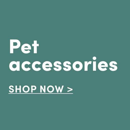Pet Accessories. Shop Now
