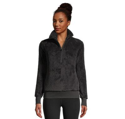 Women's Plush 1/2 Zip Pullover