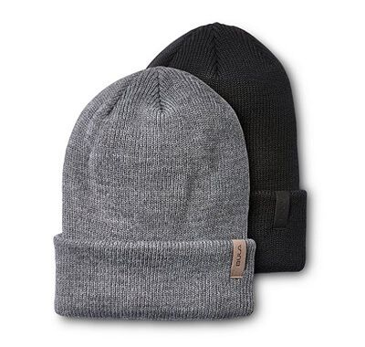 Men's 2 Pack Merino Blend Toque