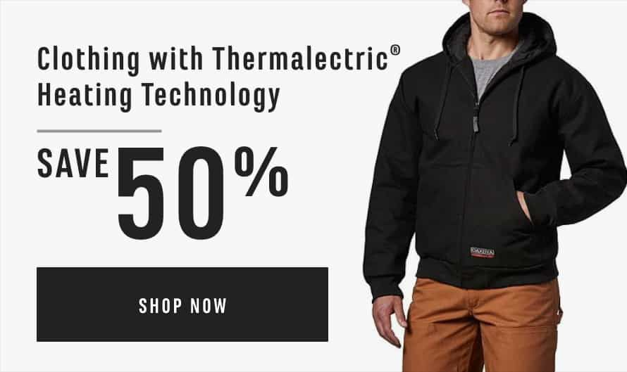 Clothing with Thermalectric® Heating Technology Save 50%