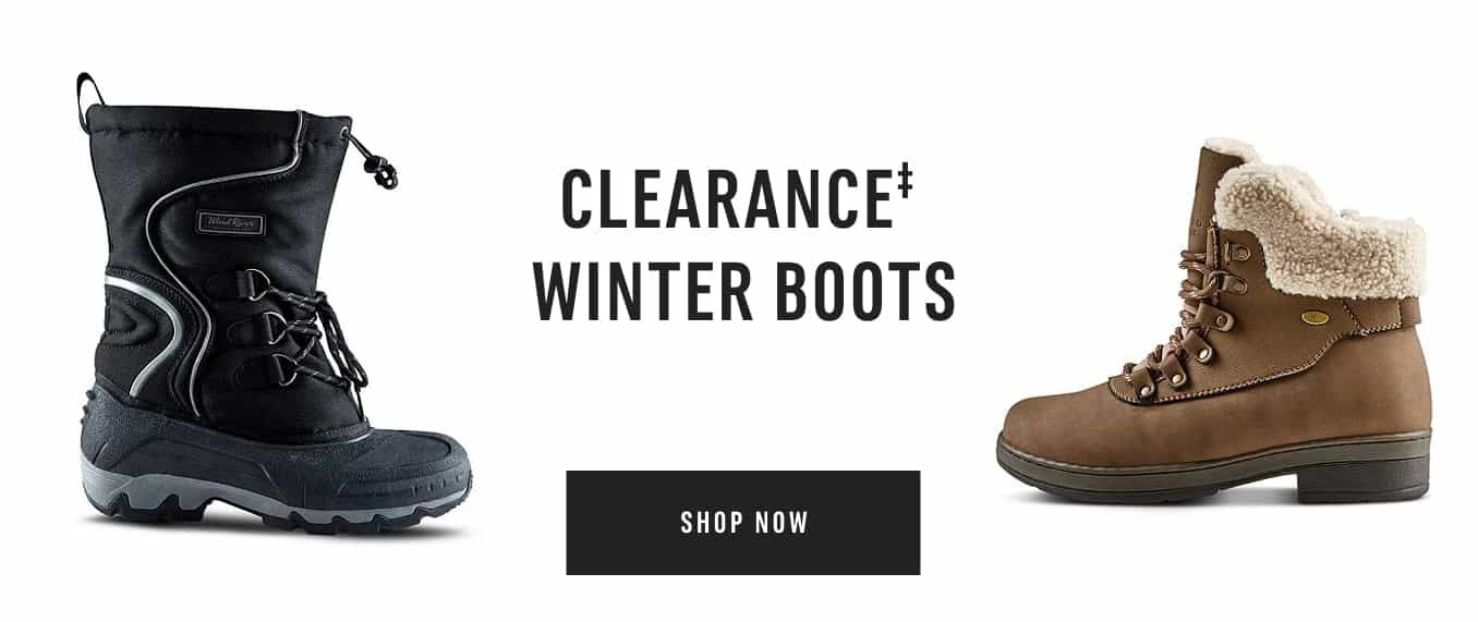 Clearance‡ Winter Boots. Shop Now