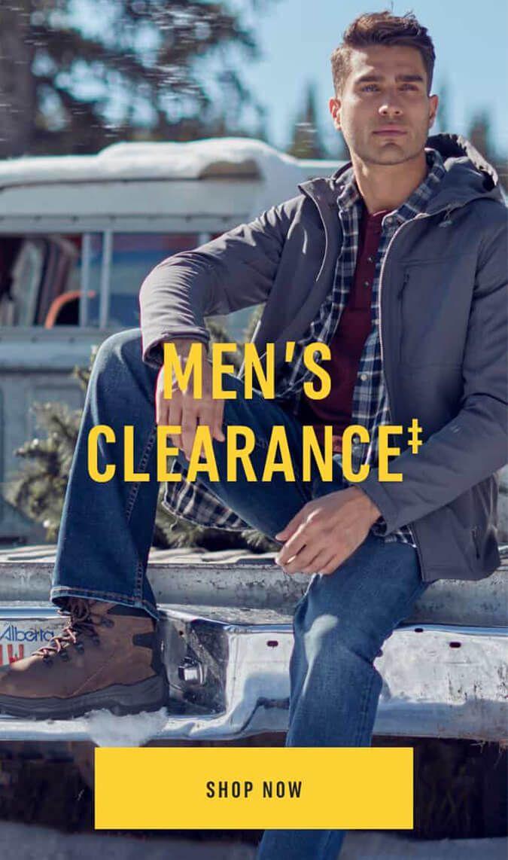 Men's Clearance‡ Shop Now