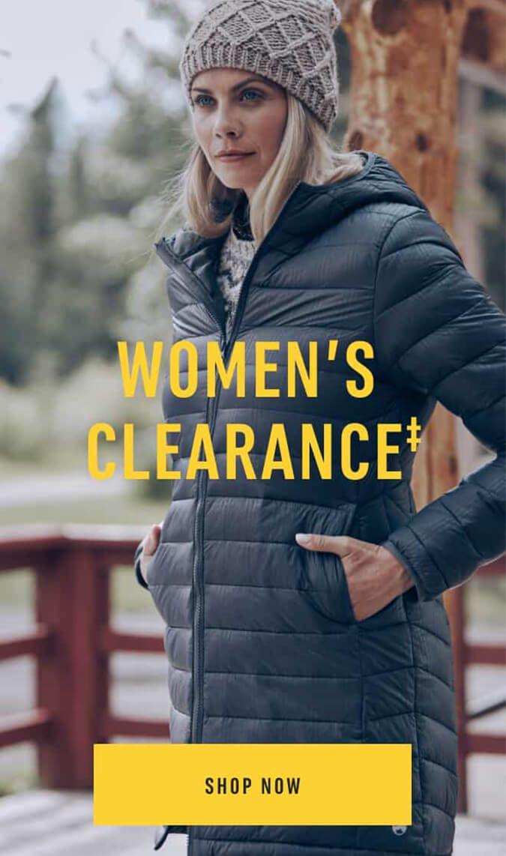 Women's Clearance‡ Shop Now