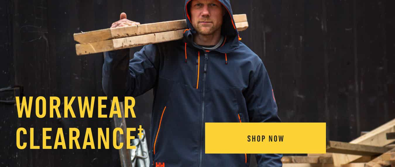 Workwear Clearance‡ Shop Now