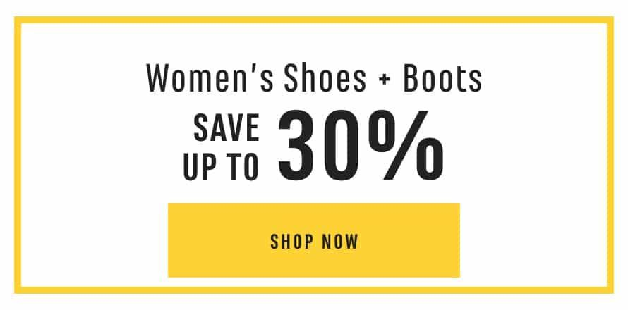 Women's Shoes & Boots: Save up to 30%. Shop Now