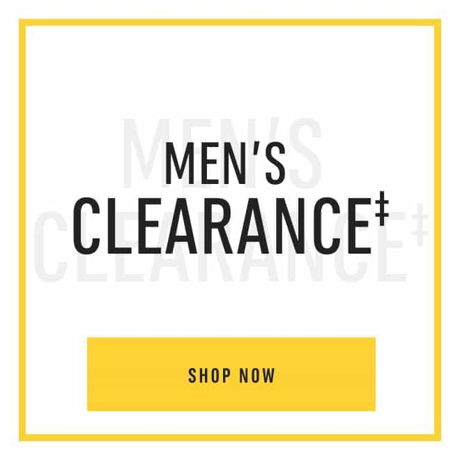 Men's Clearance‡.Shop Now