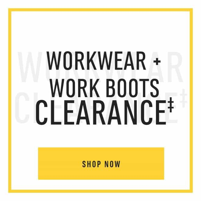 Workwear Clearance‡. Shop Now