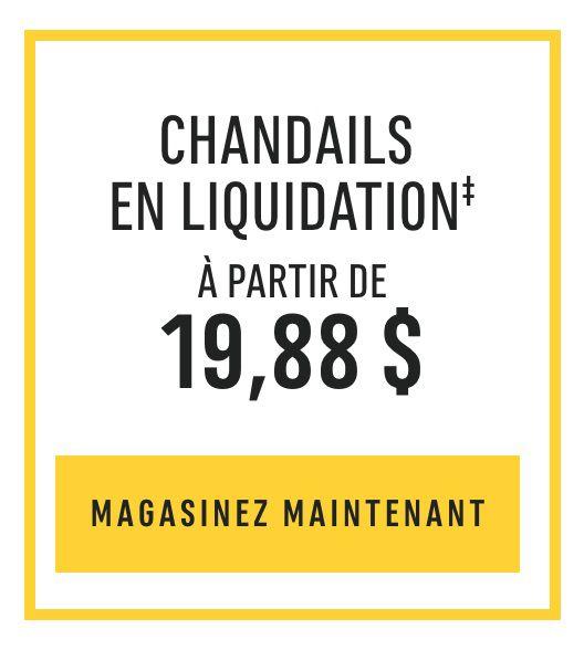 Chandails En Liquidation‡ : À partir de 19,88 $. MAGASINEZ MAINTENANT