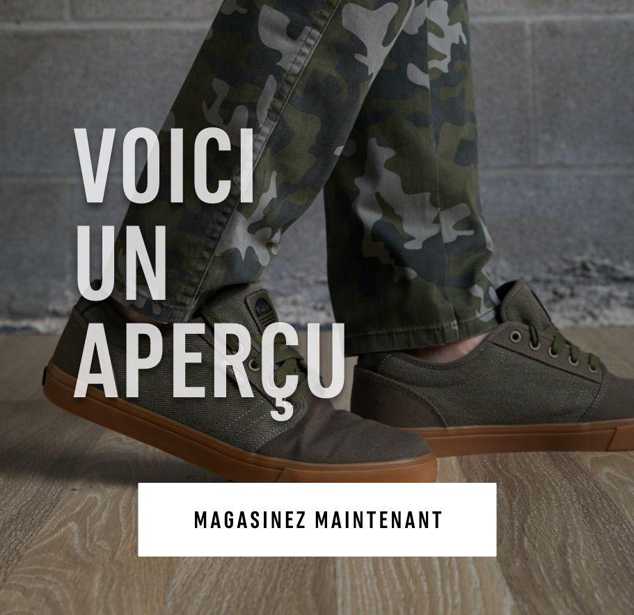 Aperçu: Marchez en toute confiance avec la nouvelle collection des chaussures, des sandales et des mocassins bateaux de cette saison. MAGASINEZ MAINTENANT