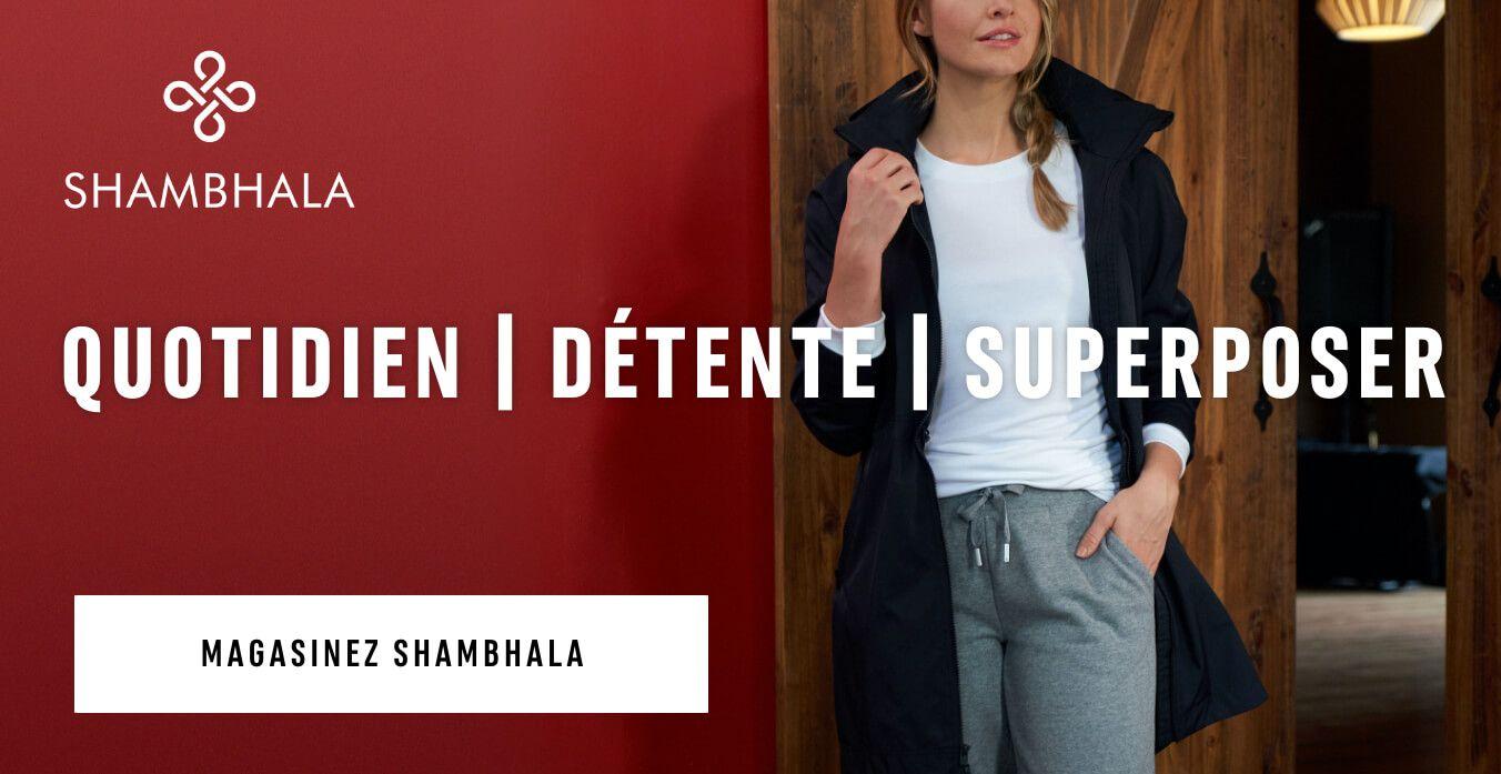 DÉTENTE | VIVRE | SUPERPOSER. MAGASINEZ SHAMBHALA