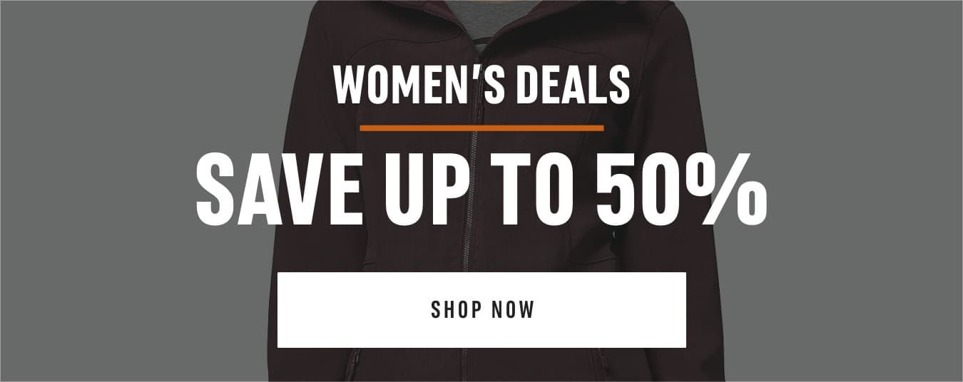 Women's Deals : Save up to 50%. Shop Now