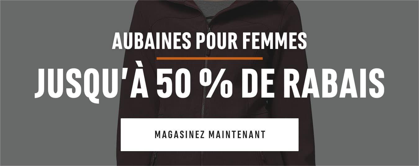 Aubaines pour femmes : jusqu'à 50 % de rabais. Magasinez maintenant
