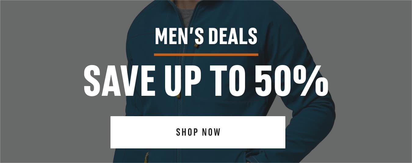 Men's Deals : Save up to 50%. Shop Now
