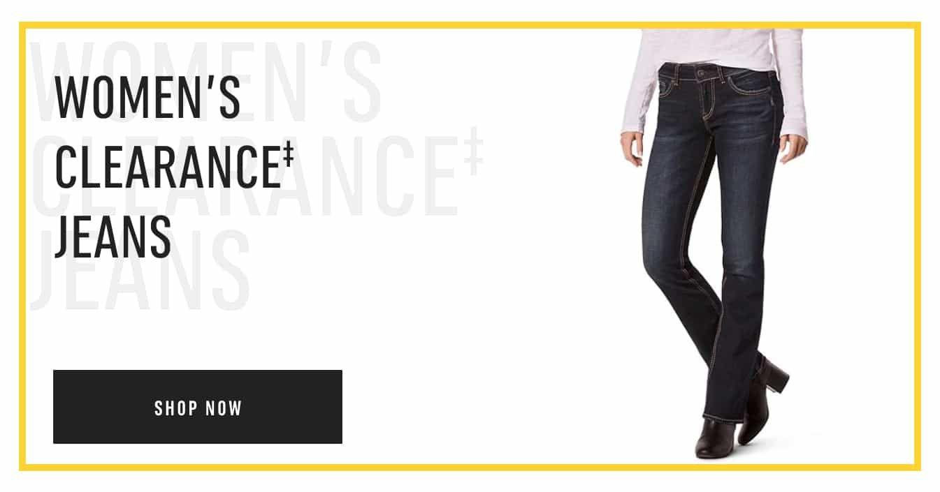 Women's Clearance‡ Jeans