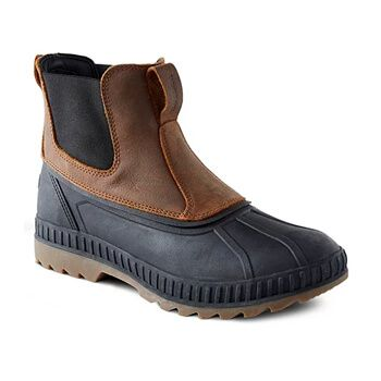 Men's Badlands Waterproof Pull-on Duck Boots