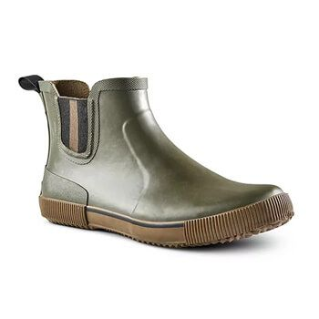 Men's Convoy Slip-On Duck Boots Wide - Olive
