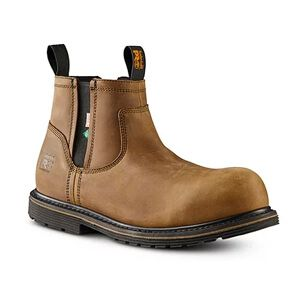 Men's Timberland Pro Millworks Chelsea 6 In Composite Toe Composite Plate Work Boots