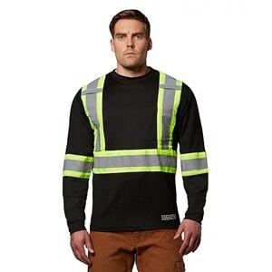 Men's Long-Sleeve Lined Hi-Vis T-Shirt