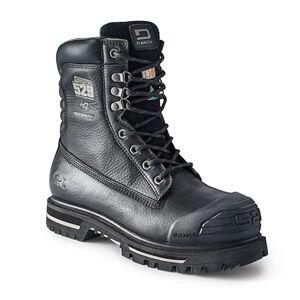Men's 8 In 529 Waterproof Steel Toe Steel Plate Injected Welt Work Boots