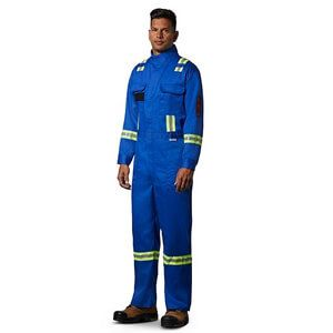 Men's Flame Resistant Striped Coverall