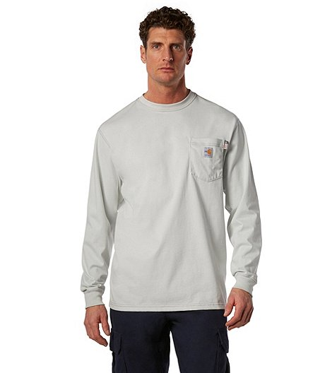 d355732b91c7 Carhartt Men's Long Sleeve Work Dry T-Shirt