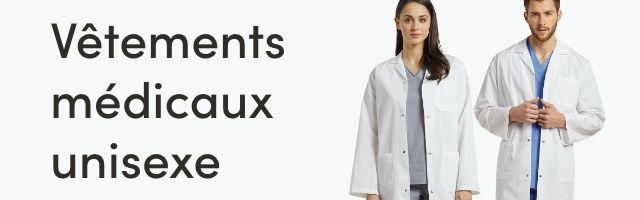 Magasinez vêtements médicaux unisexe