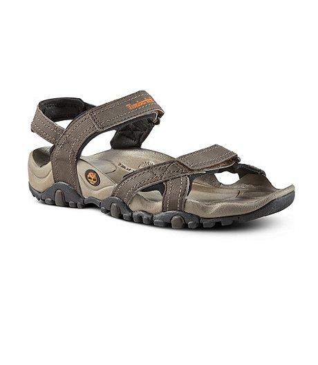 new product ec5ff 5e502 Timberland Men s Granite Trailray 3-Strap Sandals