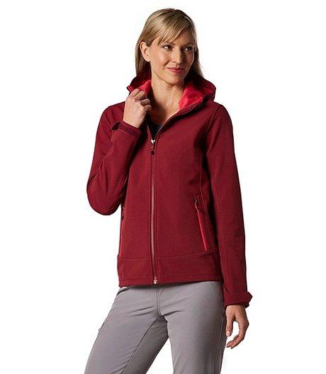 5eb448a6de WindRiver Women s HD1 Water Repellent Aurora Softshell Jacket