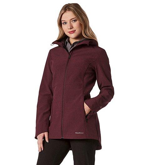 a3b4b3ca9e WindRiver Women s HD1 Water Repellent Lunar Softshell Jacket