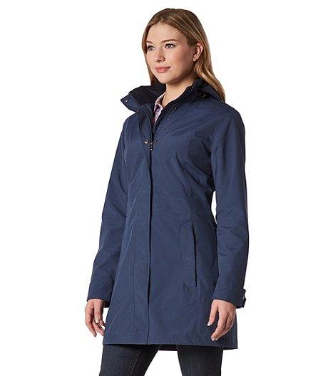 d3e0e7c0fd1 Denver Hayes Women's HD2 Water Resistant Travel Jacket