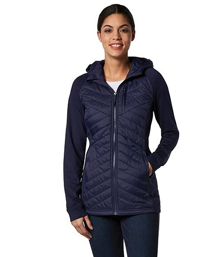 1d4dc7aed6 FarWest Women s Water Repellent Hybrid Jacket