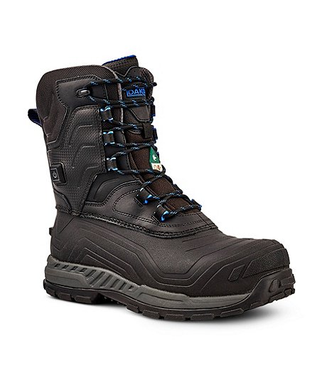 51928ae6a2c Men's Thermalectric Heated Composite Toe Composite Plate Winter Work Boots