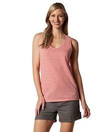 01234154e2168 Denver Hayes Women s Artisan Slub Space-dyed Scoop Tank Top ...
