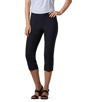 Sung Alfred Sung Women's Perfect Pull-On Capris