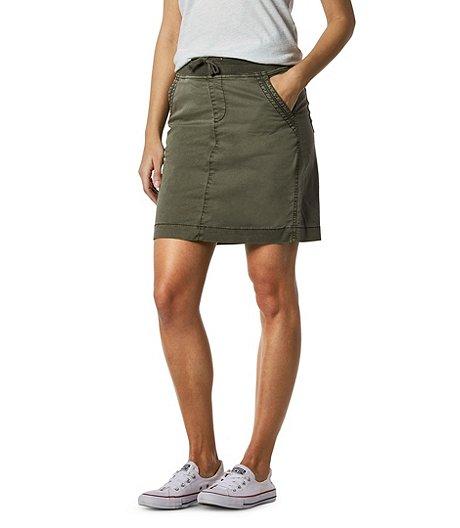 ed42991167fee0 Jupe-short rétro à enfiler pour femmes