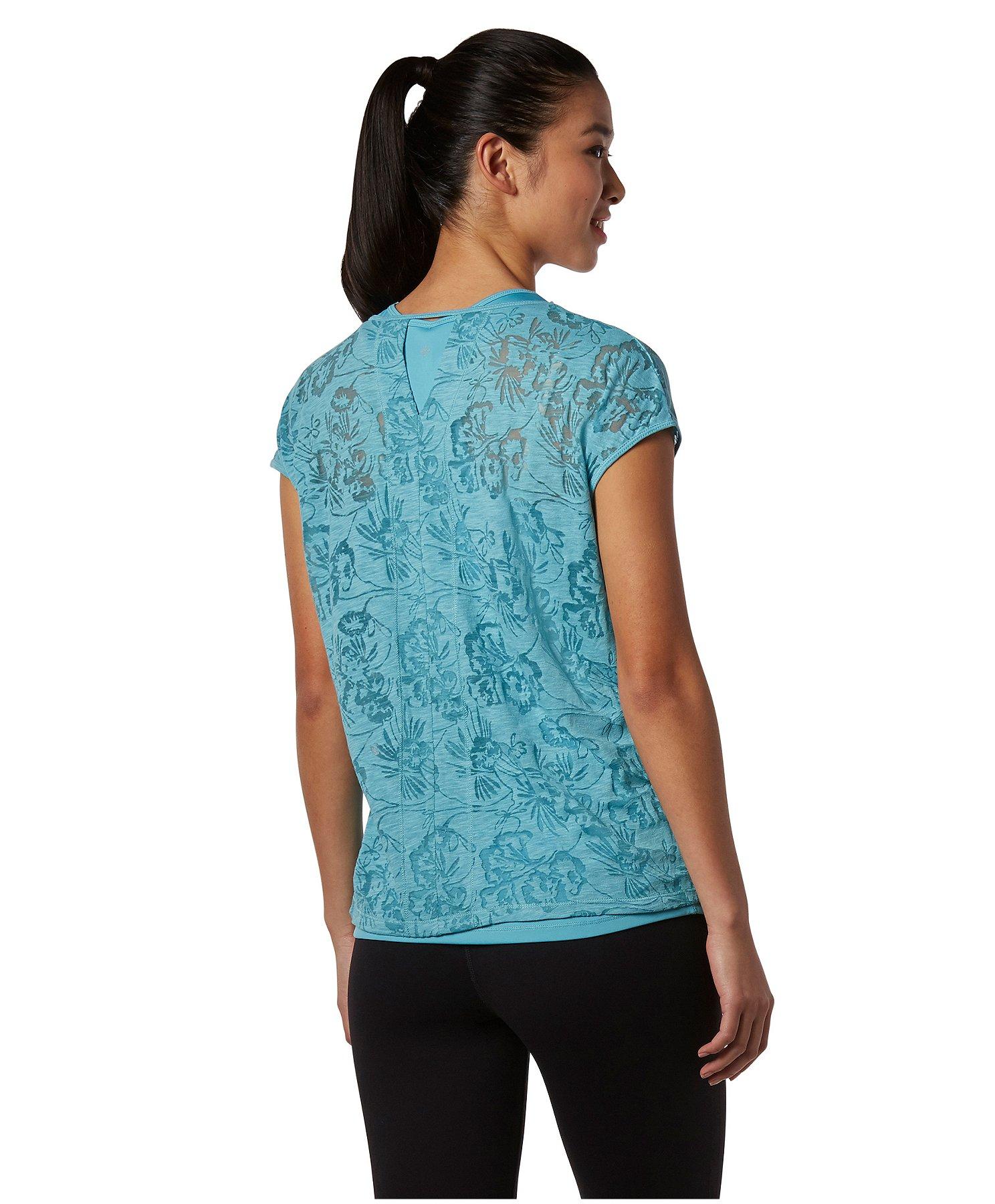 Women's Double Layer Burnout T-Shirt