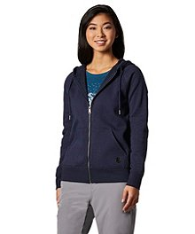 WindRiver Women s HD1 Water Repellant Fleece Hoodie ... 861de79bf2