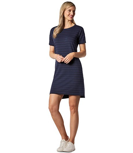 475552a481b Denver Hayes Women s French Terry T-Shirt Dress