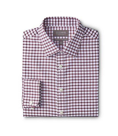 3b7bb8c7492 Denver Hayes Men s Never Iron Dress Shirt- Modern Fit